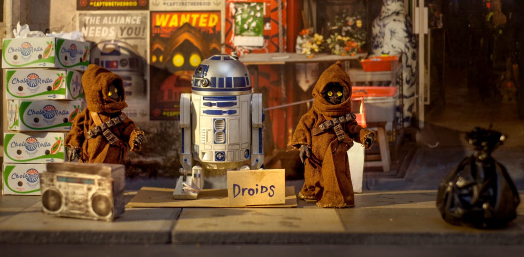 CAPTURE THE DROIDS